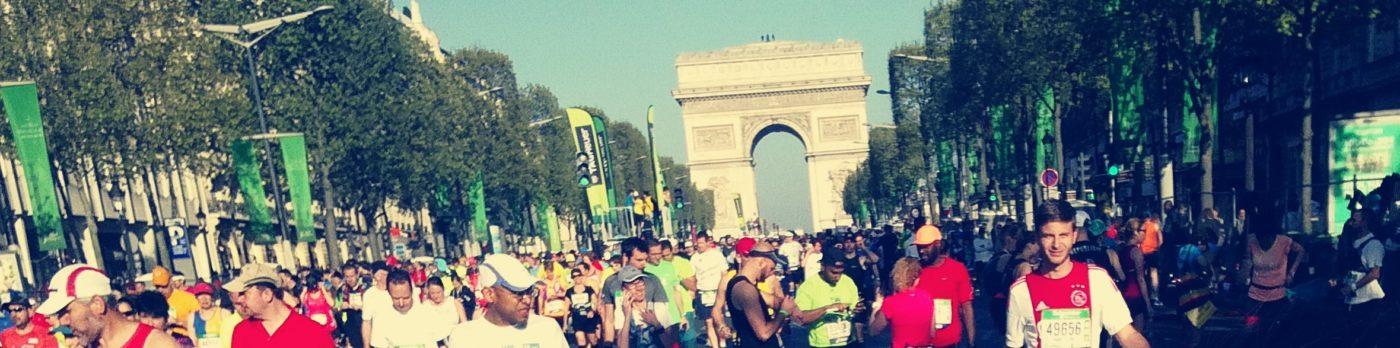 Départ marathon Paris 2017