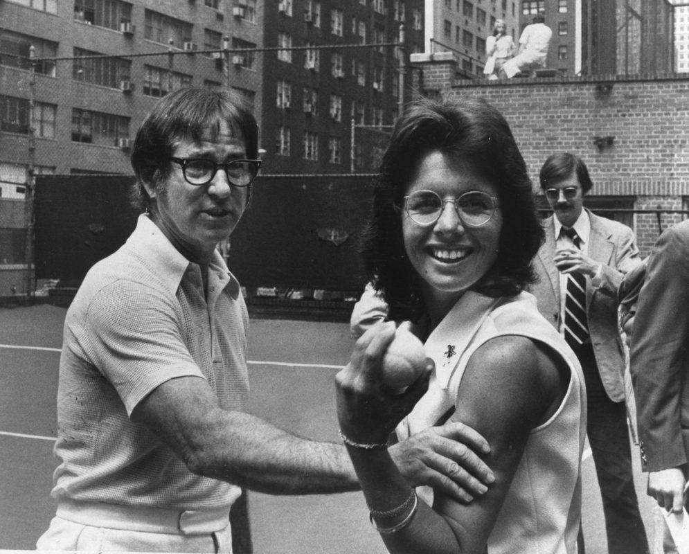 Bobby Riggs et Billie Jean King