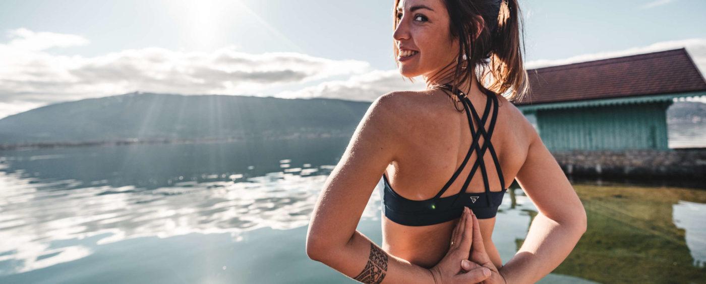 bandeau helios brassiere yoga annecy