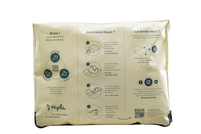 colis reutilisable hipli
