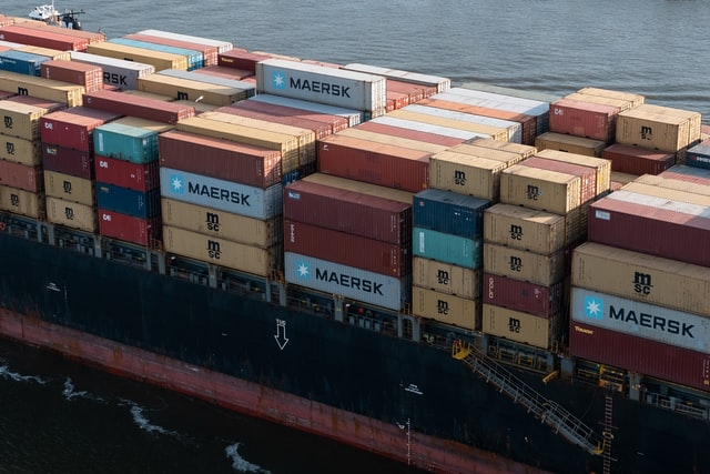 container asie
